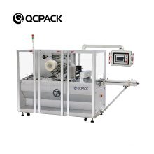 Automatic Cosmetic Perfume Box 3D Film Packing Equipment Condom Bopp Overwrapping Packaging Cellophane Wrapping Machine