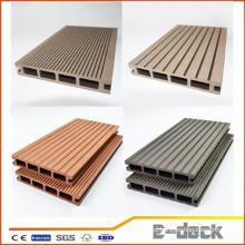 Textura nova textura de madeira bom preço WPC pavimento ao ar livre madeira decking compostos de plástico