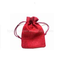 Sacos de cordão de serapilheira multifuncional de juta com ótimo preço