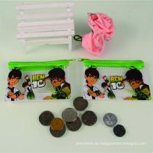 Beliebte Kunststoff gedruckt billige Werbebilder Portemonnaie/Geldbörse