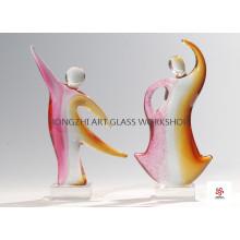 Let`s Dance Glass Sculptures