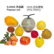 Gemüse und Früchte pädagogisches Spielzeug