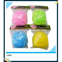 JML New arrival bath soap sponge scrub mesh bath sponge material for shower