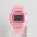Stainless steel back watch plastic watch water resistant for sport 3ATM nickle free