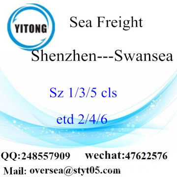 Shenzhen Port LCL Consolidation To Swansea