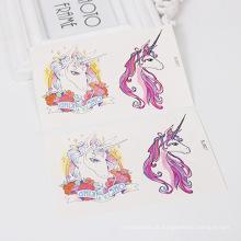 custom-made amigável transferência de água crianças dos desenhos animados etiqueta do tatuagem