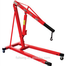 Ce certificate Heavy duty 2000kg type hydraulic foldable shop crane