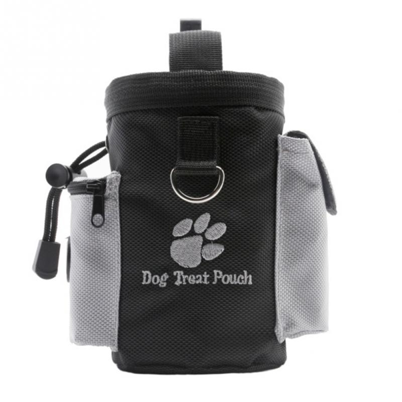 Portable Detachable Dog Training Treat Bags Doggie Pet Feed Pocket Pouch Puppy Snack Reward Waist Bag