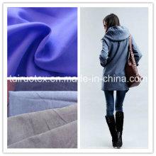 Piel de melocotón de microfibra para la ropa