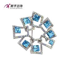 X0421002 - Xuping Fashion Luxury Rhodium CZ Cristaux De Swarovski Jewelry Element Broche