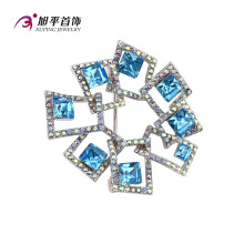 X0421002 - Xuping Fashion Luxury Rhodium CZ Crystals From Swarovski Jewelry Element Brooch