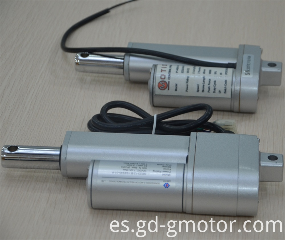 high speed actuator
