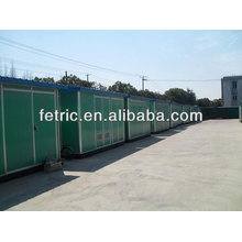 Power distribution prefabricated house