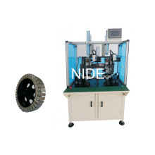 Double Station Wheel Motor Paper Inserting Machine