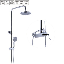 new brass bath shower set rain shower head set