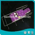 Soportes / estantes de la taza que cuelgan del gabinete del cromo del metal