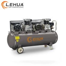3x2hp motores dobles y bombas de aire 220V compresor de aire del pistón 300l