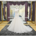 Latest fashion lace mermaid wedding dress in cheap price wholesale
