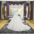 Модные кружева русалка свадебное платье дешевые Оптовая цена