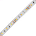APA102 constant current led strip,60LEDs/m with 60pcs WS2801 IC built-in the 5050 SMD RGB LED Chip;DC5V, White PCB