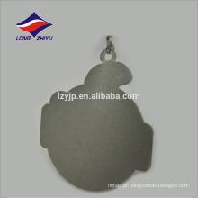 Metal de medalha de lembrança de finalização de liga de zinco personalizado com fita