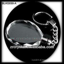 qualitativ hochwertige leeren Kristall Schlüsselanhänger