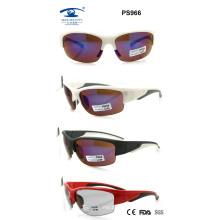 Latest Style Unisex Plastic Sport Sunglasses (PS966)