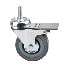 Grau Industrial Light Duty Swivel Gummi Caster