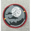 Etiqueta bordada vestuário personalizada do bordado