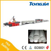 Línea de producción de tubería de PVC rígido plástico automático calificado (Tongjia Brande)