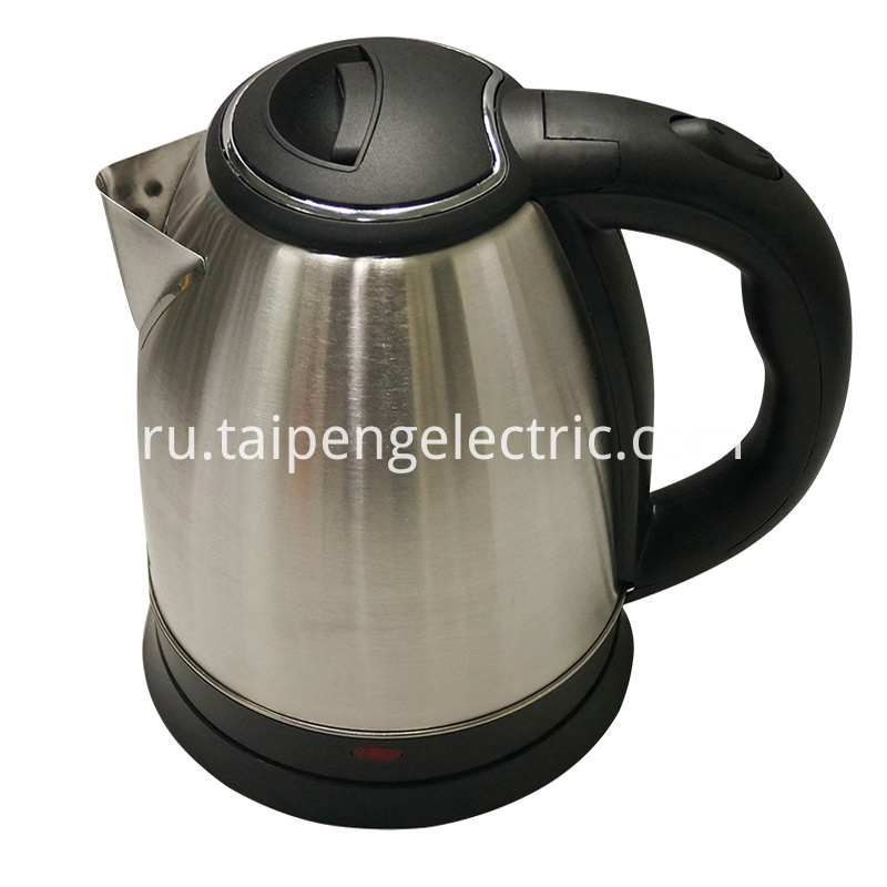 Sliver electric kettle