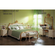 2016 Muebles de dormitorio de lujo real para saled BD8006