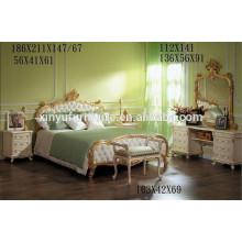 2016 Королевская роскошная мебель для спальни BD8006