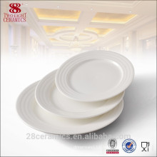 Ceramics Plate, Porcelain round plate, Ceramic chinaware for hotel