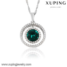 32750-xuping fashion sterling silver color pendant crystals from Swarovski