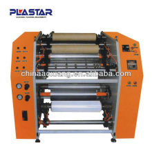automatic manual aluminum foil roll rewinder with low noise