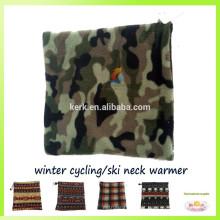 Aquecedor do pescoço 3in1multifunctional, lenço do tubo, chapéu do velo do lã, capa militar do balaclava
