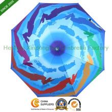 Digitaldruck Folding Sonnenschirme für Promotion (FU-3621B)