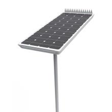 Solar panel LED street lamp