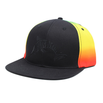 custom tie dye snapback flat bill hat