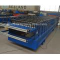 glazed and trapezoidal roof sheet making machine