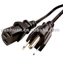 UL d'approuvé de puissance cordon CSa des CUL d'ensembles certifié SJOW fil CABLE ASSEMBLY