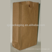 Hot Sale Brown Kraft Paper Food Packaging Bag