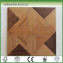 Piso de madeira de teca resistente à água
