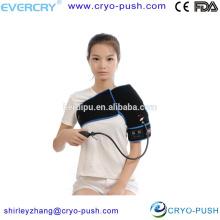 EVERCRYO china proveedor de dispositivos médicos hombro frío abrigo de hielo tratamiento de hielo con compresión para dolor de hombro