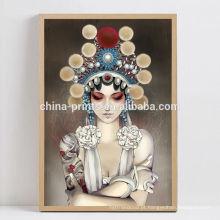 Arte chinesa da pintura da menina do sexo do sexo para a venda