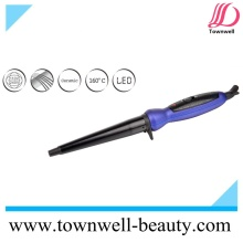 Ceramic Coating LED Hair Curling Wand for Worldwide Use