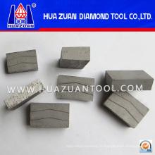 Sharp 800mm Алмазный отрезной сегмент для мрамора (Hz364)