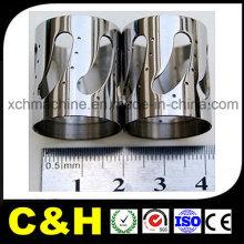 OEM 5 Axis CNC alta precisão usinagem Micro peças de aço inoxidável