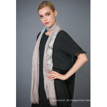 10% Kaschmir & 90% Wolle bedruckter Schal
